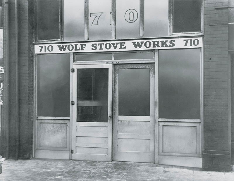 Wolf Appliances vintage picture. Back in the day.